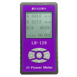 $enCountryForm.capitalKeyWord Australia - UV power Meter detector Handheld Glass   Fabric   glasses   UV blocking rate Solar Films UV Light radiation strength tester