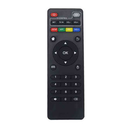 max tv box UK - Universal IR Remote Control For Android TV Box H96 max V88 MXQ T95Z Plus TX3 X96 mini H96 mini Replacement Remote Controller LLFA