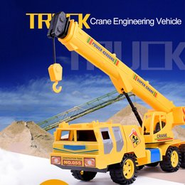 model toy cranes 2019 - Diecast Inertial Crane Toy Engineering vehicles  Boys Toys Mini Pull Back c219f4e26801