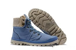 $enCountryForm.capitalKeyWord Australia - designer shoes PALLADIUM Pallabrouse Men High-top Army Military Ankle boots Canvas Sneakers Casual Shoes Mans Anti-Slip sport Shoes