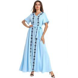 e7eb7e8bbb65d Robes D'été Longues Dames Élégantes Distributeurs en gros en ligne ...