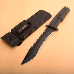 extrema ratio tactical Australia - New Extrema Ratio Straight knife 440C Black Blade Black Forprene Handle Survival Fixed Blade Knives With Kydex