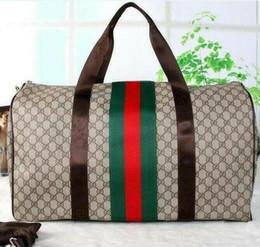 bffc6d0ed 14 estilos 55 cm 2019 hombres bolsa de viaje mujer bolsas de viaje marca equipaje  de mano bolsa de viaje keepall hombres pu bolsos de cuero bolsa grande ...