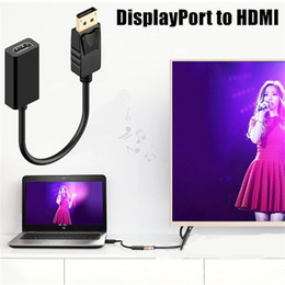 $enCountryForm.capitalKeyWord Australia - 4K*2K 2160P 1080P DP to HDMI Adapter Male To Famale Converter Cable Display Port to 1080P HDMI Transmitter For PC Laptop Tablet Projector