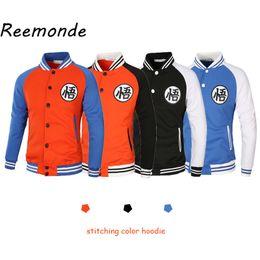$enCountryForm.capitalKeyWord Australia - Anime Hoodie Goku Black Cosplay Costumes Mens Male Hoodies Sweatshirts Baseball Jacket Coat School Uniform Clothes