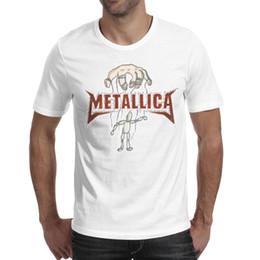 $enCountryForm.capitalKeyWord UK - Metallica band Printed Men's Shirts Fashion Soft Round Neck Short Sleeve Tee