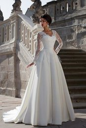 Sweetheart Pregnant Wedding Dress Australia - Wedding dress Elegant Lace Sheer Neck A-Line Wedding Dresses Cap Sleeves Maternity Pregnant Backless Beach Plus Size Made Bridal Gowns