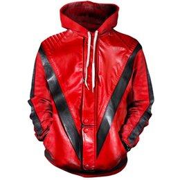 47d70b8d659 Michael Jackson Hoodies UK - MJ Michael Jackson Thriller Hoodie Hoodies Men  Women Fashion Hip Hop