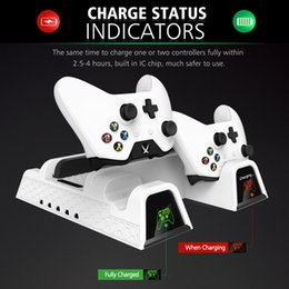 Xbox Console Controller Australia - Hot sale OIVO Dual Controller Charger For Xbox ONE Cooling Vertical Stand Games Storage Charging Docking Station for Xbox ONE S X Console fr