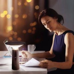 $enCountryForm.capitalKeyWord Australia - Portable LED Desk Light Table lamps Folding Eye-Care Bedside Reading Light Book Lamp Wireless Desktop Charger USB charging