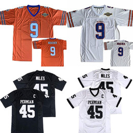 ingrosso cani di film-Adam Sandler Bobby Boucher The Waterboy Mud Dogs Bourbon Bowl Patch Boobie Miles Permiano Movie Willie Beame Football Jersey