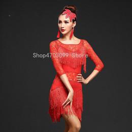 women skirt models 2019 - 2019 new models Latin Dance Dresses Suits Women Girls Sexy Fringes long Skirt Ballroom Tango Rumba Latin Dresses Clothin
