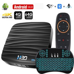 android box video UK - Android TV Box 10 4GB 32GB 64GB 4K H.265 Media Player 3D Video 2.4G 5GHz Wifi Bluetooth Smart Receiver