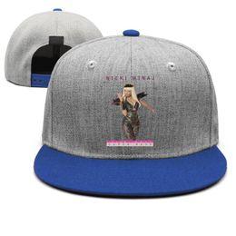$enCountryForm.capitalKeyWord Australia - Nicki Minaj Super Bass blue mens and women snap back,flat brimcap baseball cool designer plain personalized hats