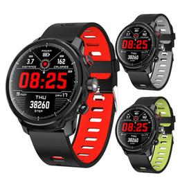 Heart Rate Track Smart Watch Australia - L5 Smart Watch Multifunction Sport Track Heart Rate Blood Pressure Sleep Monitor Smart Bracelet IP68 Waterproof Fitness Tracker