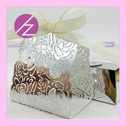 Gold Wedding Card Holders Australia - Invitation Cards Rose Pattern Engagements Favor Holders Chocolate Wedding Engagements Marriage Thanksgiving Festival Birthday Party Supplies
