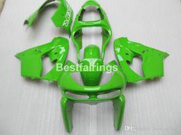 $enCountryForm.capitalKeyWord Australia - Free custom paint body parts fairing kit for Kawasaki Ninja ZX9R 98 99 green fairings set ZX9R 1998 1999 YW27
