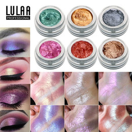 $enCountryForm.capitalKeyWord NZ - LULAA 14 Color Monochrome Jelly Gel Eyeshadow Cream Charming Pigment Glitter Shimmer Eye Lips Face Body Cosmetics
