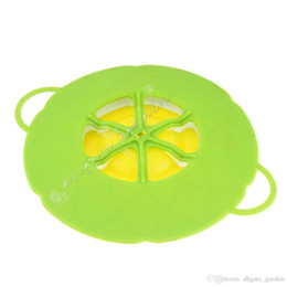 $enCountryForm.capitalKeyWord Australia - New Arrival SPILL STOPPER 2017 Kitchen Gadgets Silicone Lid Spill Stopper Pot Cover Cooking Pot Lids Utensil
