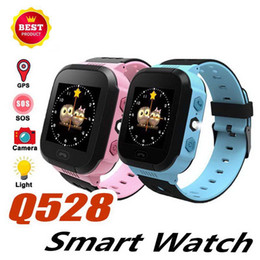$enCountryForm.capitalKeyWord Australia - Q528 Kids Smart Watch Baby Bracelet with Remote Camera LBS Watches SOS Calling Child Wristband as Gift for Chirdren in Retail Box