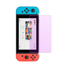 China 9H Tempered Glass Screen Protective Arc Edge Film For Nintendo Switch Screen Eye Protection Cover For Nintend Switch Accessories Nintendo suppliers