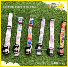 bears lanyard NZ - Beverage bottle straps Snoopy Sling kettle Kettle lanyard Dafei bear flying elephant kanahera inclined cross hanging applicable