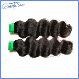indian remy hair body wave NZ - Black lady beauty hair products raw 10a indian virgin hair body wave 2pcs lot unprocessed indian remy human hair natural color