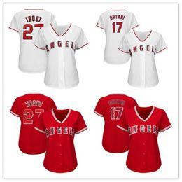 los angeles baseball 2019 - Womens Mike Trout Shohei Ohtani Custom La Angels Jersey Albert Pujols Jose Fernandez Alex Meye Ladies Los Angeles Baseba