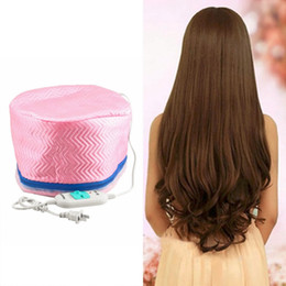 Heated Hair Cap Australia - Electric Hair Thermal Treatment Beauty Steamer SPA Nourishing Hair Care Cap Styling Tools Anti-electricity Heating US Plug