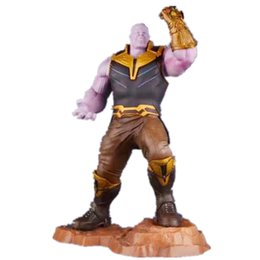 scale pvc action figure model toy UK - 2019 new ARTFX + STATUE Avengers Infinity War Thanos with Infinity Gauntlet 1 6 Scale PVC Action Figure Model Toys Anime Doll