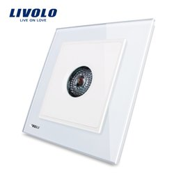 $enCountryForm.capitalKeyWord Canada - Livolo UK standard New Wall Light Sound Control Switch, AC 110~250V ,40S,White Crystal Glass Panel
