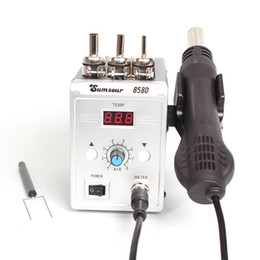 hot air rework gun NZ - Soldering Heat Gun 858D 700W Digital Display BGA Rework Solder Station Hot Air Blower Gun