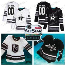 Customized men women Youth Dallas Stars 2019 All-Star Game Parley Authentic Hockey  Jersey white Black 14 Benn 91 Seguin 47 Radulov 90 Spezza 753a1cffd