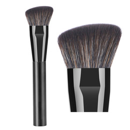 $enCountryForm.capitalKeyWord UK - Professional Contour Makeup Brush Anlged Flat Contouring Sculpting Powder Foundation Primer Base Bronzer Highlighter Shadow Make up Brush