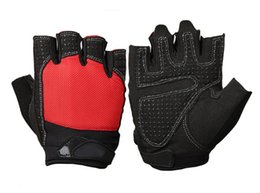 mitten leather UK - Fitness Instrument Men Exercise Training Wrist Slip-proof and Air-permeable Half-finger Horizontal Bar Palm Protector Lead-up Glove Women