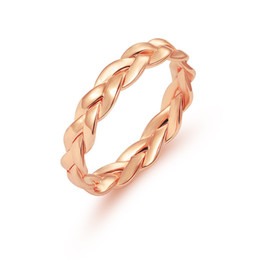 Discount wholesale fashion stack rings - ZN 2018 Simple Fashion Ring Punk Twist Rope Minimalist Rings for Women Simple Rustic Knuckle Stack Slim Rings Wedding Je