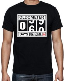 Birthday Party T Shirts Australia - 60th Birthday Oldometer Funny Present Gift Party Dad Father Pop Black T Shirt