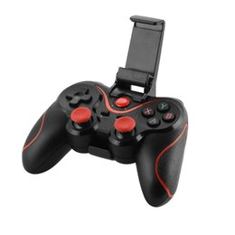 tablet wireless controller NZ - New X3 Wireless Bluetooth Gamepad Game Controller Game Pad for Android Smartphones Tablet Windows PC TV Box