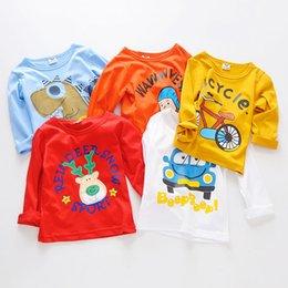 $enCountryForm.capitalKeyWord Australia - Spring Autumn Children Clothing Boys Grils T Shirt Cotton Long Sleeve T-shirt Kid Boy Casual Cute Cartoon T-shirt 2-8Y tShirt