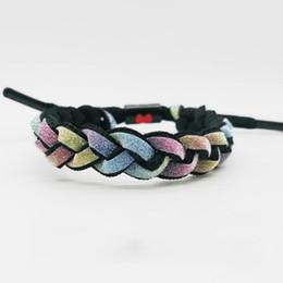 $enCountryForm.capitalKeyWord Australia - Hand-woven Color Rope Designer Bracelet Minimalism Women Mens Bracelet Couple Love Bracelet Fashion Jewelry Hot Sale