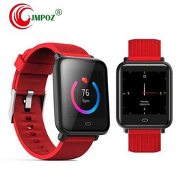 sports activities for kids Canada - Q9 Smart Bracelet Watch Heart Rate Monitor IP67 5ATM Passometer Smart Watch Sports Activities Tracker Bluetooth Wristwatch For Android IOS