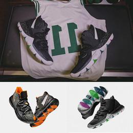 2018 New 5 5s Scarpe da Basket Nero Magic per Top Kyrie Chaussures Nero Bianco Maple Leaf Mens Scarpe da ginnastica Sport Sneakers Con Box