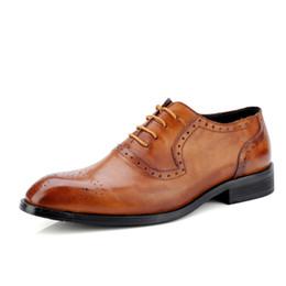 $enCountryForm.capitalKeyWord Australia - luxurious Brand Full Grain Leather Men Oxford Shoes British Style Retro Carved Bullock Formal Men Dress Shoes Size 36-47
