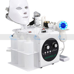 Discount facial lifting equipment - 7 in 1 Hydrafacial Machine Dermabrasion Skin Cleaning Oxygen Facial Hydro Facial Micro Dermabrasion Skin Care Face Lifti