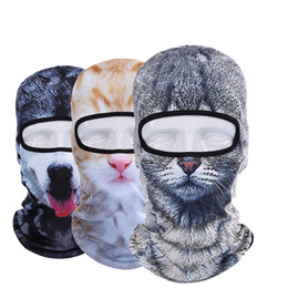 $enCountryForm.capitalKeyWord UK - 3D Animal Balaclava Funny Face Mask Hood Hat Breathable Outdoor Sports Cycling Motorcycle Running Skiing Snowboarding Music Festivals