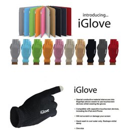 Iglove screen touch online shopping - Multi Purpose iGlove Capacitive Screen Touch Gloves for Man Women Unisex Warm Winter Glove Pair Colors