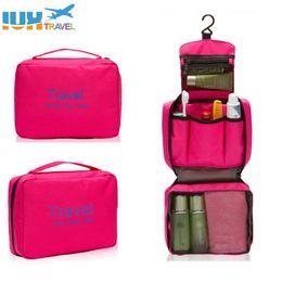 Hanging Travel Toiletry Bag Black Australia - High Quality Travel Set Hanging  Cosmetic Bags Nylon Waterproof 1d3455ae95d36