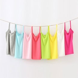 $enCountryForm.capitalKeyWord Australia - 2019 Color Baby Girls T Shirt Summer Baby Girls Sleeveless Undershirt For Teenager Kids Children Vest Clothes2-12t