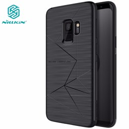 magnet support Australia - Magnet Phone Case For Samsung Galaxy S9 S9 PLUS Support wireless charging Nillkin Magic case Samsung S9 Magnetic Holder cover