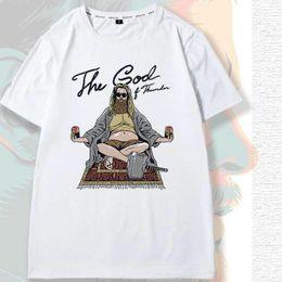 Anti Hero Shirt Australia - Meditation t shirt The god sit short sleeve tops Thor leisure hero fadeless tees Unisex white colorfast clothing Pure color modal Tshirt